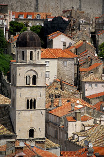 Medieval walled city of Dubrovnik by Danita Delimont