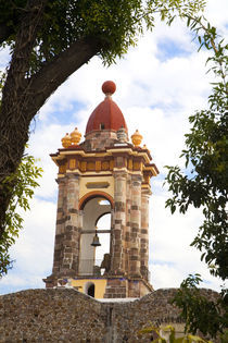 The bell tower of Templo Las Monjas by Danita Delimont