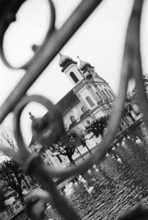 Jesuit church through railing von Danita Delimont