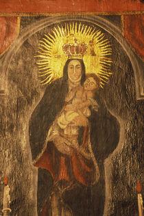 San Xavier del Bac Mission Interior by Danita Delimont