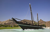 Replica of the Sohar originally sailed in the 8th century by Abdullah bin Gasm to Canton (Guangzhou) China von Danita Delimont