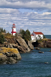 Head Harbour Light, New Brunswick, Canada by John Greim