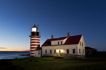 West Quoddy Head Lighthouse by John Greim