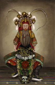 'Kouang-Tcheou-Wan: Opera Actor, 1900's' von Ashley Luttrell