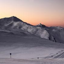 Mountains aglow // Alpenglühen von Eva Stadler