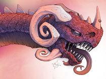 Red Dragon (narrow version) by foob