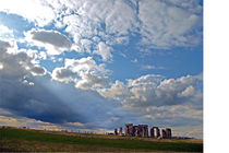 Stonehenge illuminated von winterimages