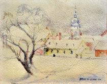Karlovac at winter by Alfred Freddy Krupa (Kruppa)
