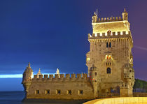 The colors of Lisboa, Tore Belem  by imageworld