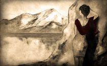 """am See hab ich gewartet"" by Christine Lamade"
