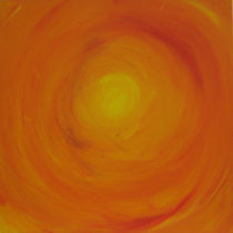 Orange Sky by Gina Hampton
