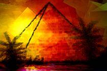 Goldene Pyramide. by Bernd Vagt
