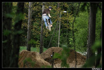 bmx dirt jump by Stephan  Sutton