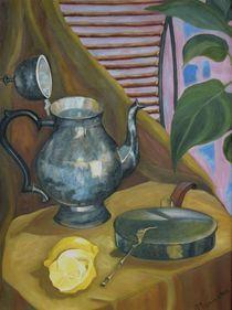 Morning-oil on canvass -24x18 von Antoaneta Hillman