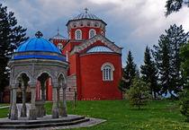 Monastery Zica by Dejan Knezevic