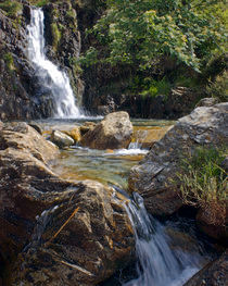 Cwm Bychan Waterfall by John Kiely