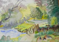 Bridge Near Enniskerry Ireland  by Warren Thompson
