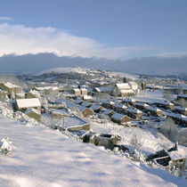Mossley in the snow von John Kiely
