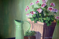 Still Life With Flowers  by Stephen hanson