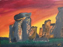 Stonehenge Sunrise von Warren Thompson