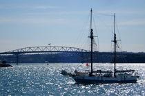 Segelboot in Neuseeland von Philipp Meier