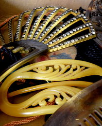 Vintage Combs and Barrettes by Lainie Wrightson