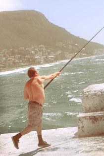Casting Fisherman von cyansea