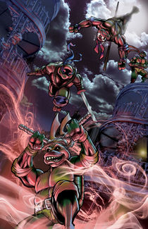 TMNT in the Big Easy by Chris  Foreman
