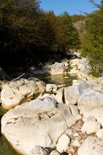 Ilica Waterfall River by Evren Kalinbacak