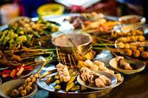 Fondue chinoise, Food court, Malaysia von Srinivasan Ramakrishnan