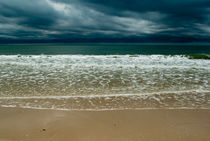 Atlantic ocean after the storm by Victoria Savostianova