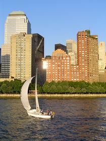 Sailing around Manhattan by Victoria Savostianova