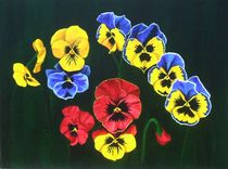 Pansy Lions 2 by Brandy House
