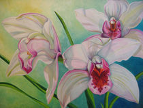 Chatty Orchids by Nora Read Coats