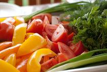 Fresh vegetables by Victoria Savostianova
