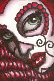 Day of the Dead Sugar Skull 'Sugar' by shayneofthedead