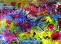Springtime Abstract  von Don  Wright
