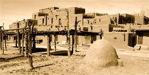 Taos Pueblo von martin Goldman