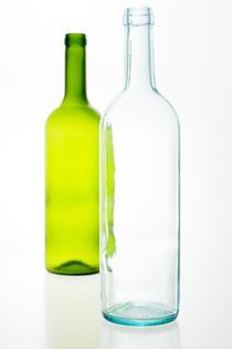 Two bottles von Peter Zvonar