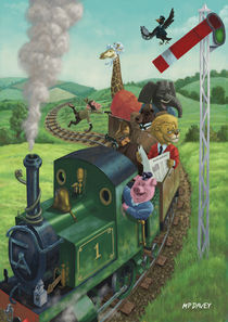 animal train journey von Martin  Davey