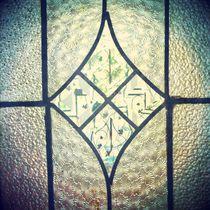 Antique glass door von Jinnie Davel
