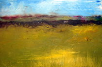 Abstract Landscape by Michelle Calkins