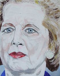 Margaret Thatcher by Horace Cornflake