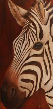Zebra by Elke Sommer