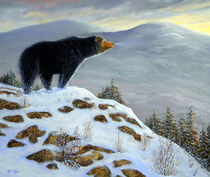 Last Look Black Bear von Frank Wilson