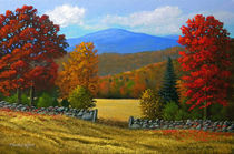 The Stone Gate in Autumn von Frank Wilson