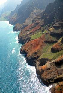 Napali Coast Of Kauai  by Frank Wilson