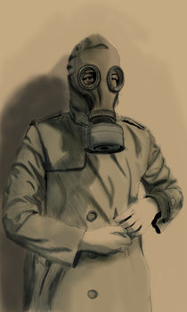 gasmask by Paul Schmidt