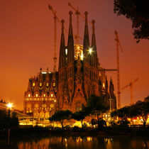 Sagrada Familia, Barcelona - Spain by Roland Nagy