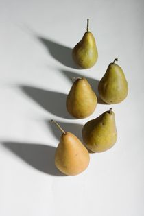 Five pears by Peter Zvonar